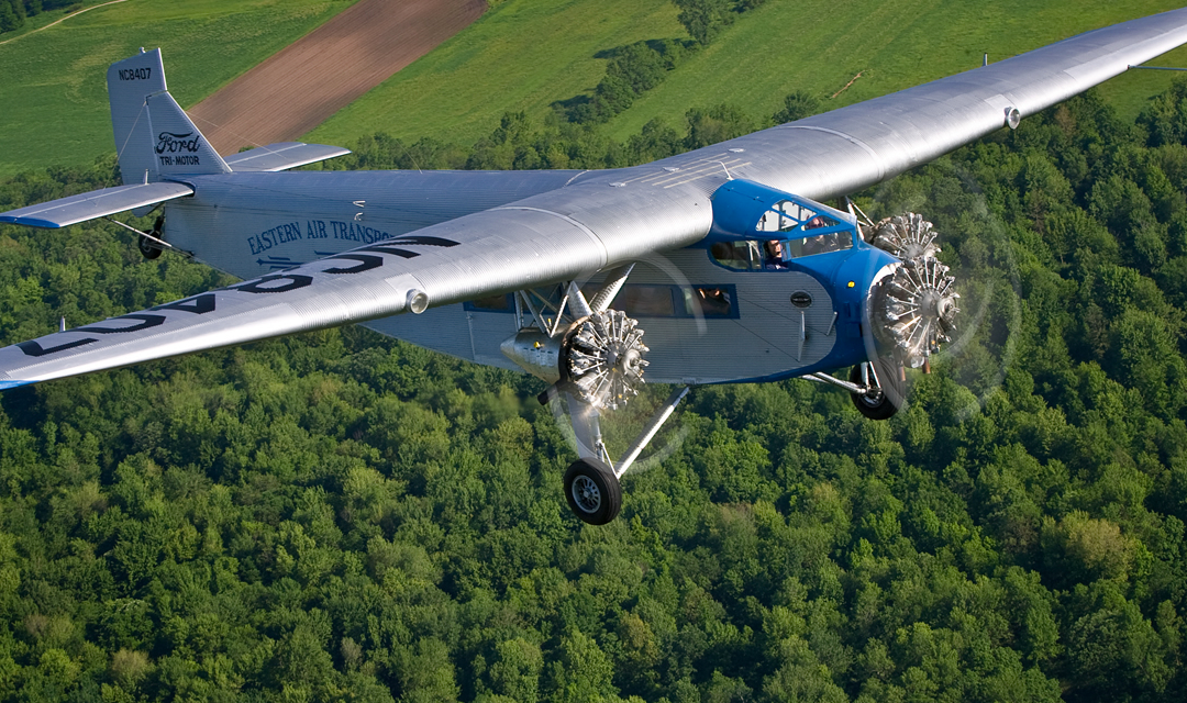 1929 Ford Tri-Motor – Wings & Wheels 2017 Event / Monroe County Airport